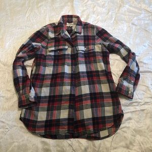 Madewell flannel shirt size M